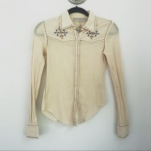 WCAGA Western Style Button Down